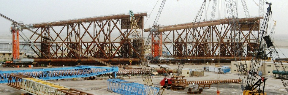 The Middle East largest marine structure - P4  One of Tasdid largest projects